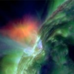 Solar storm: radio interference affected longer illuminated part of the Earth
