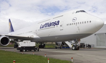 Lufthansa Boeing 747-8