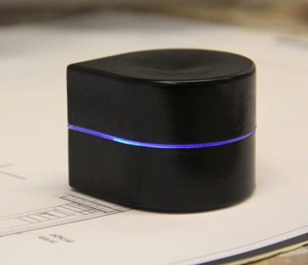 Mini Mobile Robotic Printer: printer, robot crawling along on paper